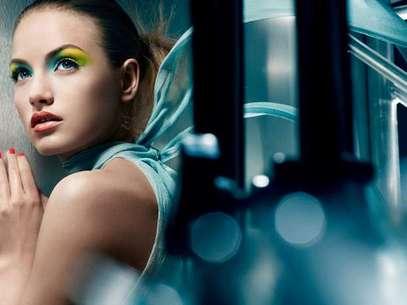 Maquillaje de ojos propuesto por la firma Yves Saint Laurent Foto: EFE en español