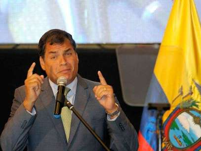 Rafael Correa, presidente de Ecuador. Foto: EFE en español