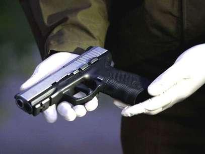 El arma homicida fue entregada por un familiar del autor confeso del crimen. Foto: AGENCIA UNO