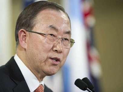 Ban Ki-moon felicitó al papa Francisco. Foto: Cortesía ONU