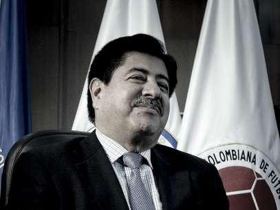 Luis Bedoya, presidente de la Federación Colombiana de Fútbol. Foto: Felipe Rincón / Terra