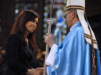 Hoy papa, Bergoglio ha sido un crítico severo del gobierno de Cristina Kirchner Foto: AFP