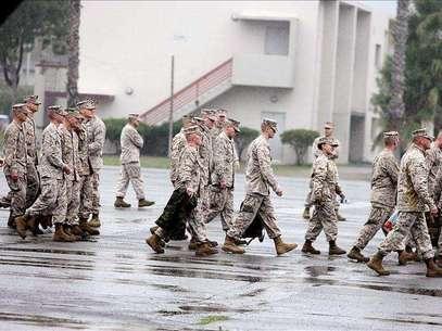 Siete marines mueren durante unas maniobras con fuego real en EE.UU. Foto: Agencia EFE