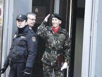 El coronelAmadeo Martínez Inglés Foto: EUROPA PRESS