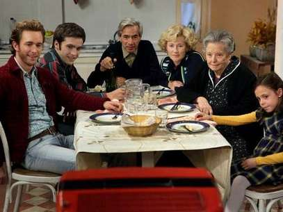 La familia Alcántara, al completo. Foto: RTVE