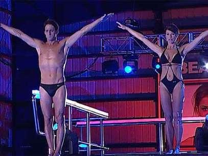 Sonia Ferrer y Álvaro Muñoz Escassi volverán a repetir como pareja de salto Foto: Telecinco