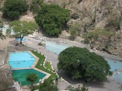 Las Grutas de Tolantongo es uno de los balnearios más visitados de Hidalgo. Foto: Turismo de Hidalgo