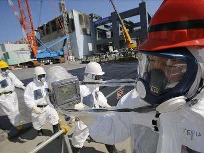 TEPCO halla agua radioactiva en uno de los pozos de la Central de Fukushima. Foto: Agencia EFE