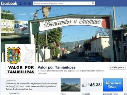 """El administrador de """"Valor por Tamaulipas"""" recibió amenazas de muerte. Foto: Facebook"""