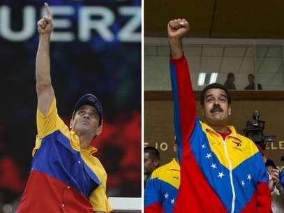 Cinco distintas encuestadoras reportan similar tendencia de resultados para el 14 de abril, Maduro por encima de Capriles, contra una, que da como ganador por cinco puntos al último. Foto: Getty Images / Terra