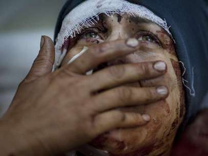 Una de las imágenes que logró en Siria durante la guerra civil Foto: Rodrigoabd.com