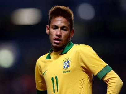 Neymar currently plays for Santos in Brazil. Foto: Getty Images