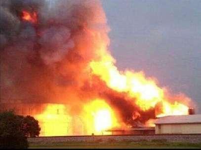 Explosión en fábrica de fertilizantes cercana a Waico, Texas deja al menos 60 muertos y cientos de heridos, según medios locales Foto: Tomada de Twitter