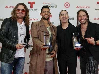 Maná, una de las agrupaciones ganadoras de los Billboard Latinos 2013. Foto: AP