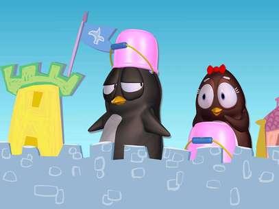 'Pim y Pimba' invita a usar la imaginación. Foto: Cortesía Baby TV