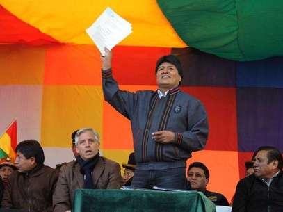 El presidente de Bolivia, Evo Morales Foto: EFE en español