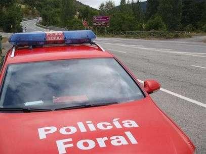 Imagen de archivo de un coche de la Policía Foral. Foto: Europa Press