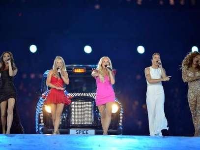 Las Spice Girls actuaron en la clausura de los Juegos Olímpicos de Londres 2012. Foto: Getty Images