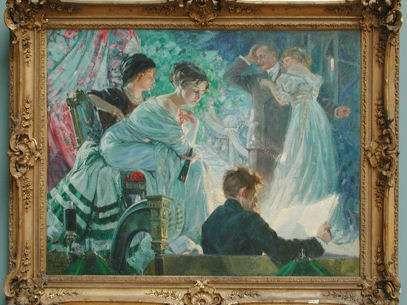 """""""La prueba"""", de Ulisse Caputo, cuadro del Museo de Arte Italiano. Foto: Museo de Arte Italiano"""