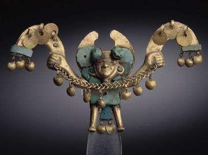 Objeto de la Sala de Oro del Museo Larco de Pueblo Libre. Foto: www.museolarco.org