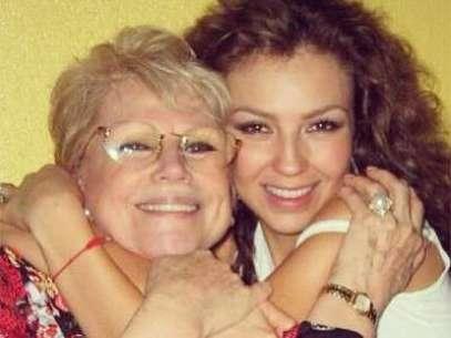 FOTO: Thalía recuerda a su madre, a dos años de su muerte  Foto: Instagram de Thalía
