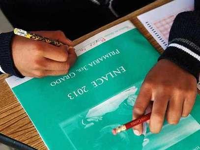 La prueba ENLACE se aplicó esta semana en escuelas de todo el país. Foto: Reforma