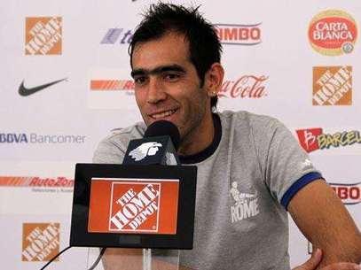 César Delgado quiere ser Campeón en la Copa Mx Foto: David Tamez/Rayados.com / Terra Networks México S.A. de C.V.