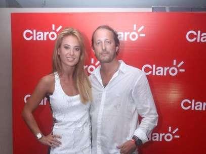 La única foto de Jésica Cirio y Martín Insaurralde que aparece en la Web Foto: Web