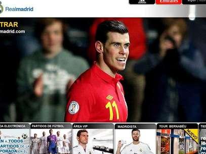 La web del Madrid hace oficial el fichaje de Bale Foto: Terra