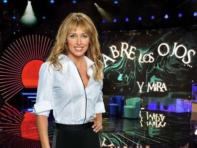 Emma García, en 'Abre los ojos... y mira' Foto: TELECINCO
