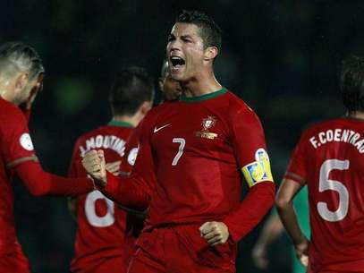 Cristiano Ronaldo had a great game for Portugal. Foto: Cathal McNaughton / Reuters