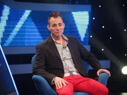 """El ex bailarín de """"Rojo""""confesó en """"Primer plano"""", a principios de junio, que era portador del virus del Sida. Foto: Reproducción Chilevisión."""