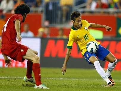 Neymar marcó un gran gol y aportó una asistencia, en la victoria de Brasil 2-0 sobre Portugal. Foto: AFP