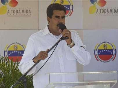 Maduro repudia imitación de voz de Chávez que le hace decir está secuestrado Foto: Agencia EFE / © EFE 2013. Está expresamente prohibida la redistribución y la redifusión de todo o parte de los contenidos de los servicios de Efe, sin previo y expreso consentimiento de la Agencia EFE S.A.