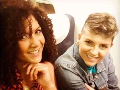 """La relación de la""""Crespa"""" con Camila Chaín, fue una sorpresa para losamigos y familiares de la exparticipante del 'Desafío África'. Foto: Instagram"""
