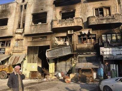 Al Qaeda se enfrenta a los rebeldes del ELS en la localidad siria de Azaz Foto: Agencia EFE / © EFE 2013. Está expresamente prohibida la redistribución y la redifusión de todo o parte de los contenidos de los servicios de Efe, sin previo y expreso consentimiento de la Agencia EFE S.A.