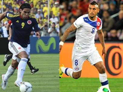 Colombia vs. Chile Foto: Getty Images