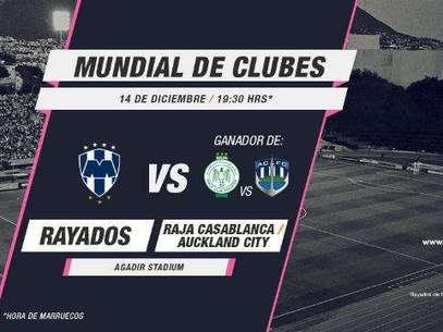 Monterrey en su tercer torneo Mundial de Clubes de la FIFA. Foto: Tomado de video / Terra Networks México S.A. de C.V.