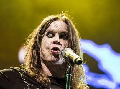 Ozzy Osbourne sudó y saltó el concierto de principio a fin. Foto: David Felipe Rincón / Terra Colombia
