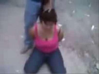 Una imagen captada del video Foto: Reproducción