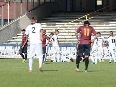 Los jugadores del Nocerina fueron amenazados por la hinchada rival. Foto: Reproducción (corriere.it)