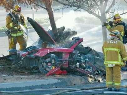 Paul Walker habría perdido el control de su vehículo e impactó en un árbol. Foto: Redes