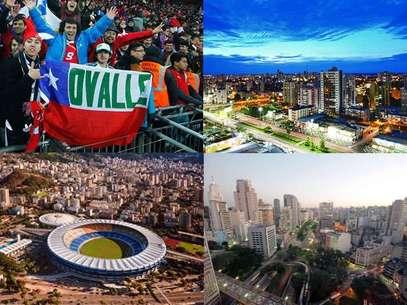 Cuiabá, Río de Janeiro y Sao Paulo será la ruta en primera fase Foto: Terra