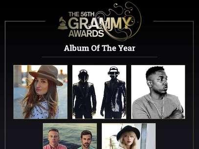 Nominados a los Grammy 2014 Foto: Sitio Oficial