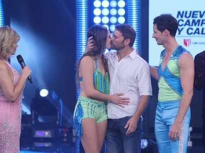 Emilia Drago fue la primera eliminada de la final de 'Reyes del Show'. Foto: Miguel Bustamante / Terra Perú