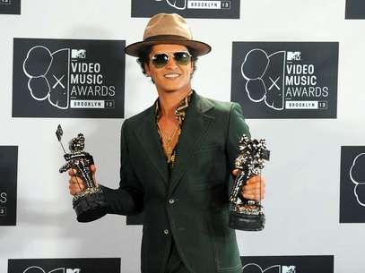 Bruno Mars dará el show de medio tiempo en el Super Bowl 48. Foto: Evan Agostini / AP
