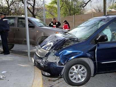 El sábado pasado Mauricio Puente Chapa conducía su auto en aparente estado de ebriedad y chocó contra un taxi, dejando un saldo de dos personas muertas y varias más lesionadas. Foto: Agencia Reforma