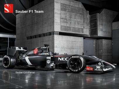 El Sauber C33 tendrá como pilotos a Esteban Gutiérrez y Adrian Sutil. Foto: Divulgación