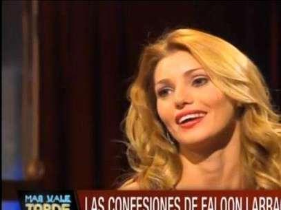 """Con nuevo rostro reapareció Faloon Larraguibel en """"Más vale tarde"""".  Foto: Reproducción"""