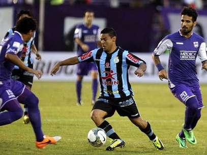 Alfredo Ramúa anotó un gol, pero su aporte se diluyó hasta que salió expulsado en el segundo tiempo. Foto: EFE